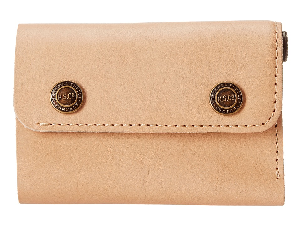 Herschel Supply Co. - Spencer (Leather Natural) Wallet Handbags