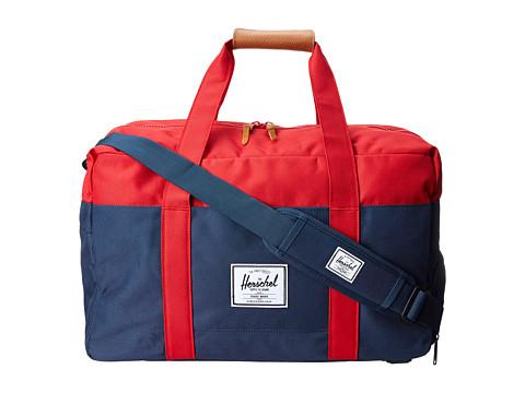 Herschel Supply Co. - Keats (Navy/Red) Backpack Bags