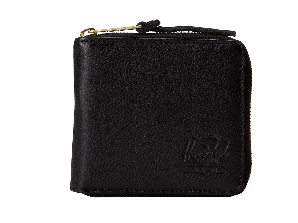 Herschel Supply Co. - Walt (Black) Wallet Handbags