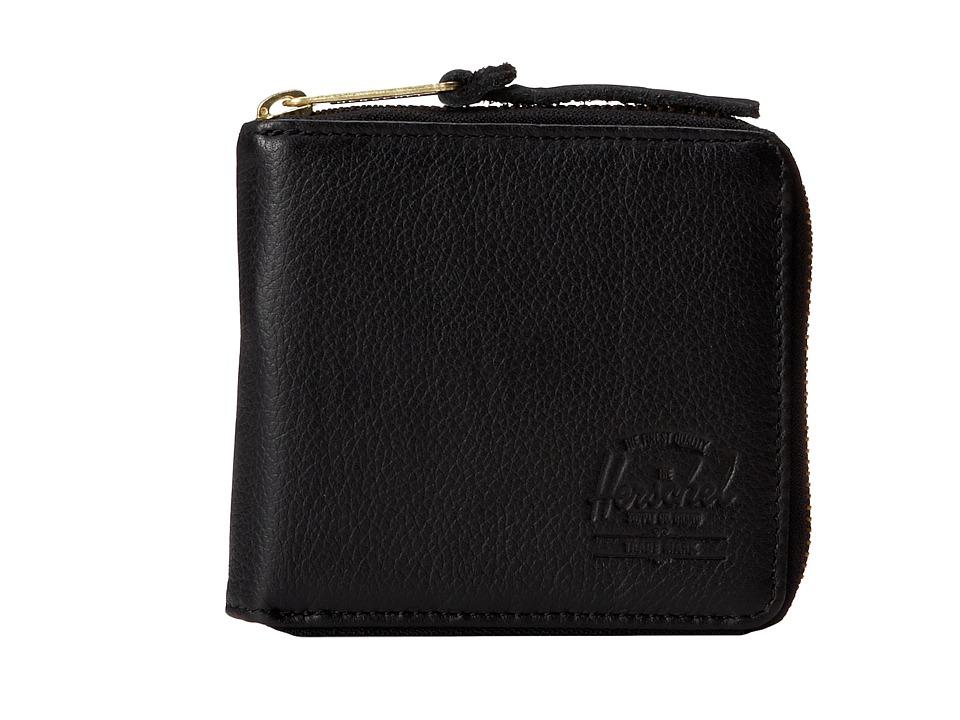 Herschel Supply Co. - Walt (Black) Wallet Handbags