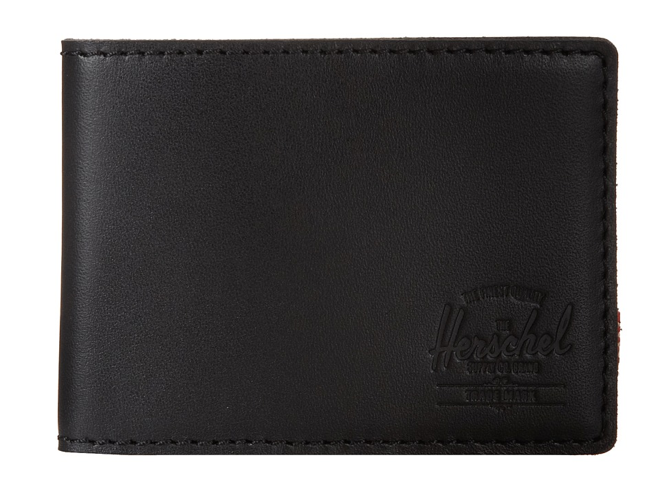 Herschel Supply Co. - Lyle (Leather Black) Bi-fold Wallet