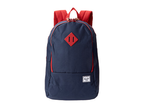 Herschel Supply Co. - Nelson Backpack (Navy/Red) Backpack Bags
