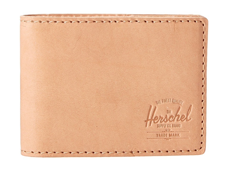 Herschel Supply Co. - Lyle (Leather Natural) Bi-fold Wallet