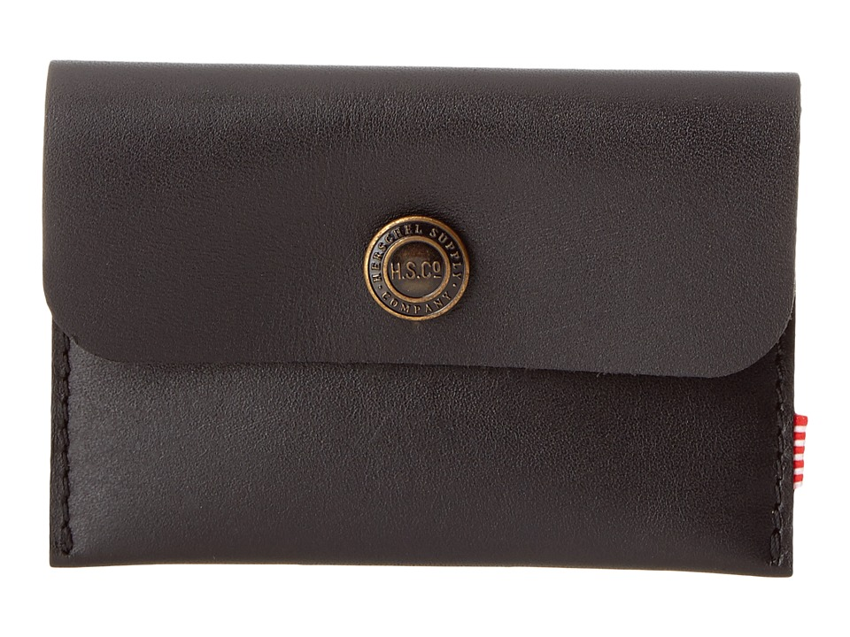 Herschel Supply Co. - Jacks (Leather Black) Coin Purse
