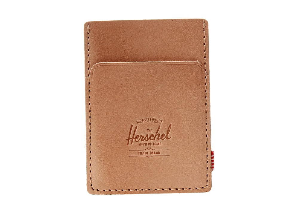 Herschel Supply Co. - Herald (Leather Natural) Credit card Wallet