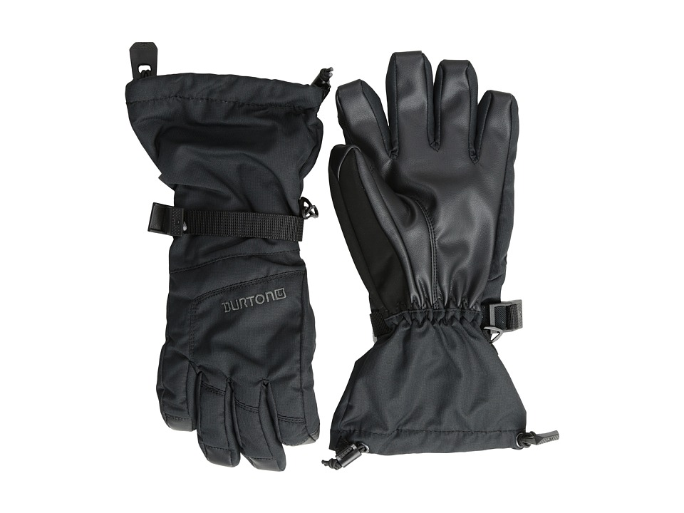 Burton - Grab Glove (Youth) (True Black) Extreme Cold Weather Gloves