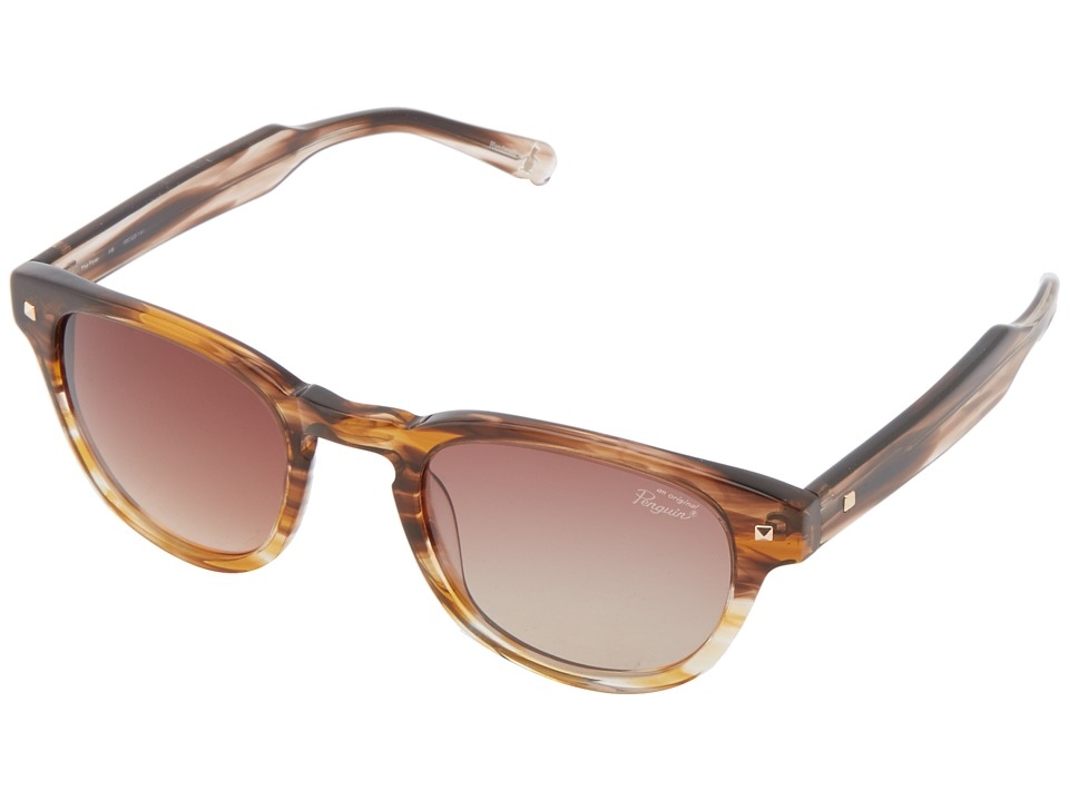 Original Penguin - The Fryer (Feathered Brown) Fashion Sunglasses