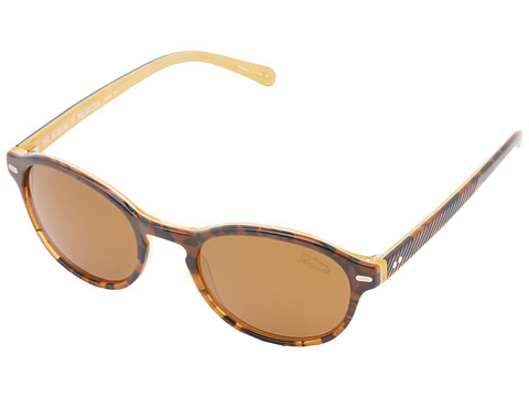 Original Penguin - The Redding (Dark Tortoise/Yellow Laminate) Fashion Sunglasses