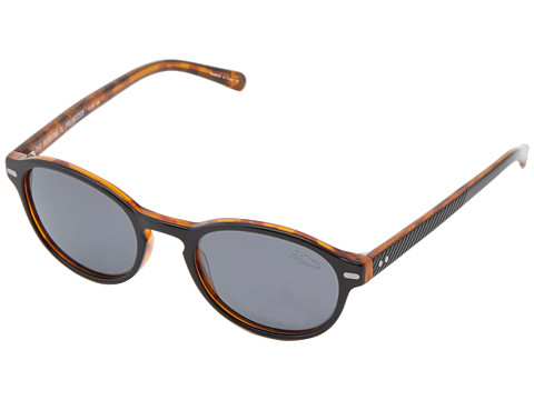 Original Penguin - The Redding (Black/Dark Tortoise Laminate) Fashion Sunglasses