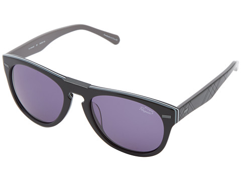 Original Penguin - The Randall (Black White Grey Multi Laminate) Fashion Sunglasses
