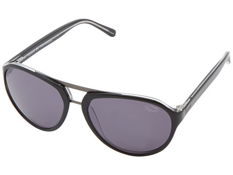 Original Penguin - The Pickford (Black Clear Crystal Laminate) Fashion Sunglasses