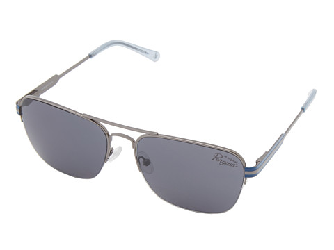 Original Penguin - The Keaton (Matte Light Gunmetal/Crystal Blue) Fashion Sunglasses