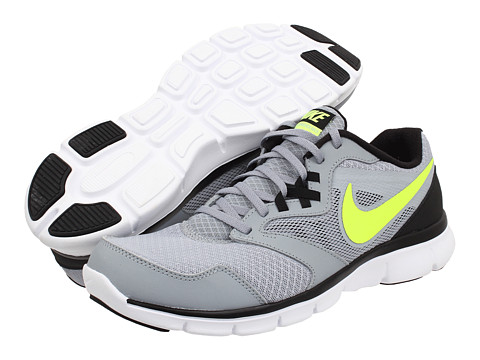 Nike - Flex Experience Run 3 (Light Magnet Grey/Black/White/Volt) Men