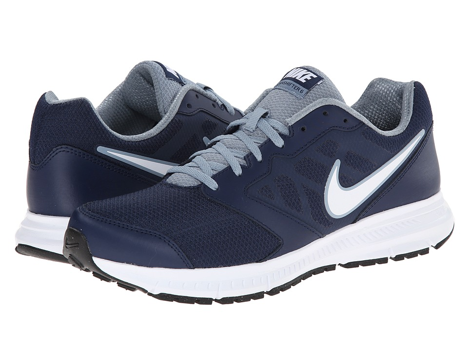 Nike - Downshifter 6 (Midnight Navy/Magnet Grey/White) Men