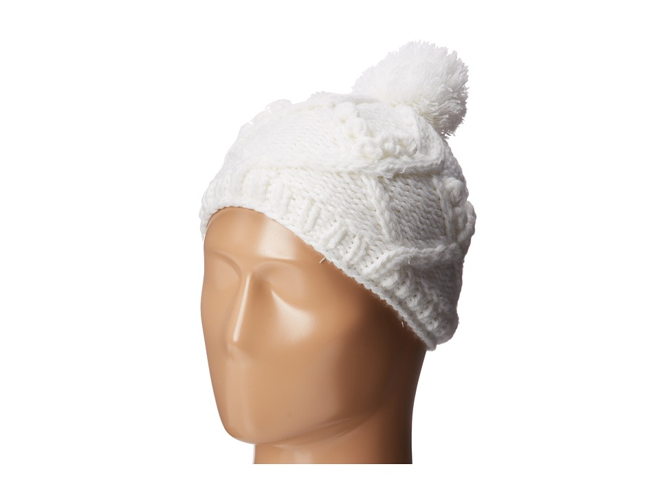 Burton - Chloe Beanie (Youth) (Stout White) Beanies