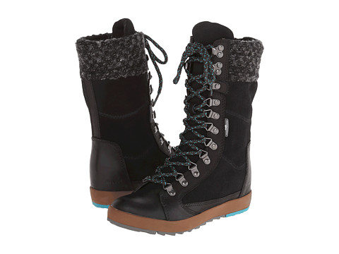 Cushe - Boho Chill WP (Black) Women's Lace-up Boots