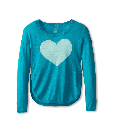 Soybu Kids - Heart U Sweater (Little Kid/Big Kid) (Charm) Girl's Sweater