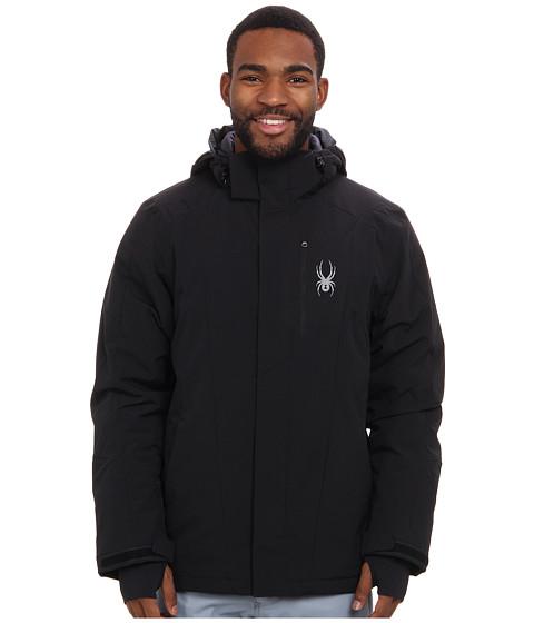 Spyder - Sentinel Jacket (Black/Black/Black) Men