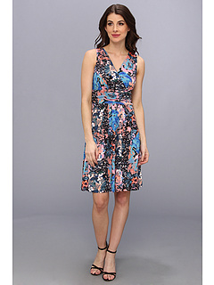 SALE! $44.99 - Save $109 on NIC ZOE Nocturnal Garden Print Dress (Multi) Apparel - 70.79% OFF $154.00