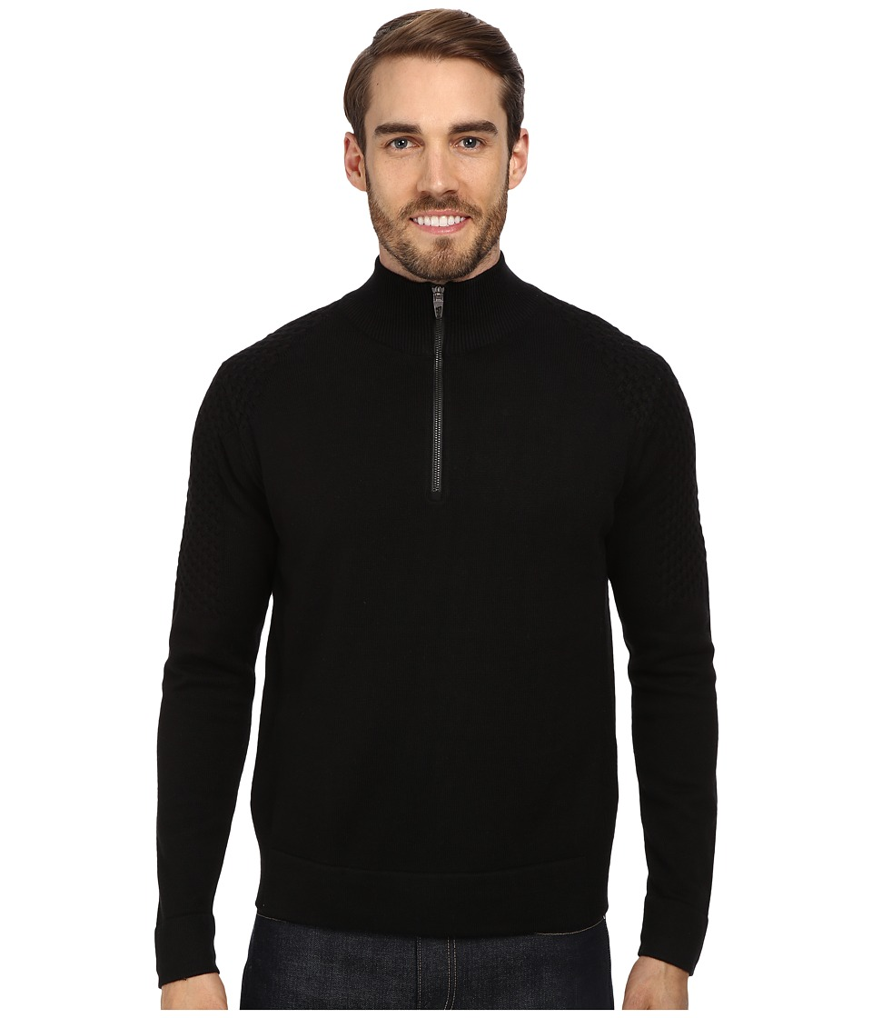 Spyder - Icon Sweater (Black/Black/Black) Men's Sweater