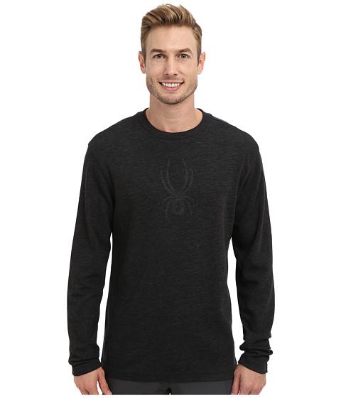 Spyder - Pump Dry W.E.B. Crew (Black) Men's Long Sleeve Pullover
