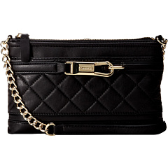 SALE! $79.99 - Save $48 on Calvin Klein Lux Lamb Quilted Leather Crossbody (Black) Bags and Luggage - 37.51% OFF $128.00