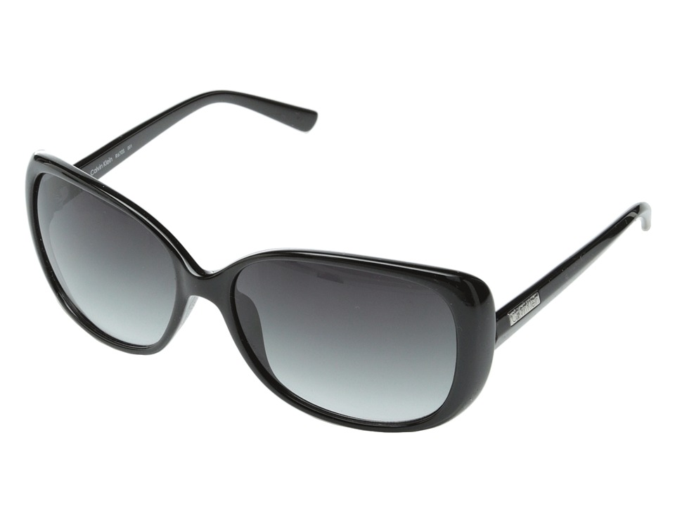 Calvin Klein - CWR670S (Black) Fashion Sunglasses
