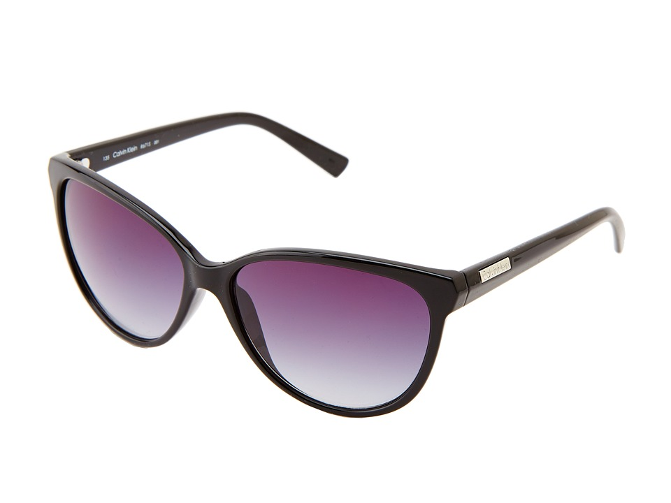 Calvin Klein - CWR671S (Black) Fashion Sunglasses