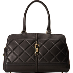 SALE! $129.99 - Save $108 on Calvin Klein Luxe Lamb Satchel (Black) Bags and Luggage - 45.38% OFF $238.00