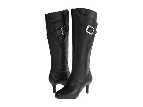 Rockport - Seven To 7 65mm Buckle Tall Boot (Black) Women