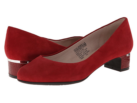 Rockport - Seven To 7 35mm Plain Pump (Rhubarb Suede) Women