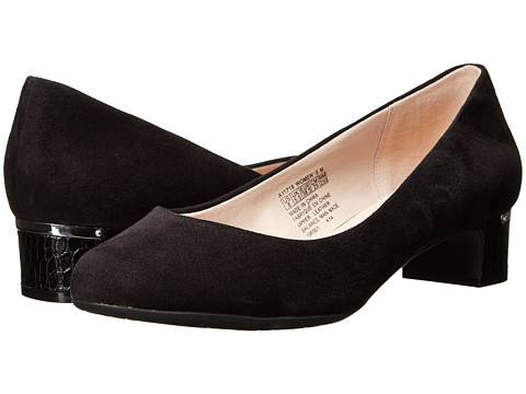 Rockport - Seven To 7 35mm Plain Pump (Black Suede) Women's Shoes