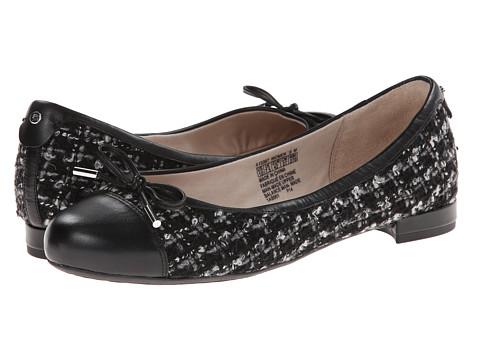 Rockport - Atarah Cap Toe Ballet (Tartan/Black) Women's Shoes