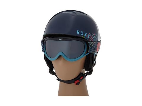 Roxy - Misty Helmet/Loola Goggle Combo Pack (Peacoat) Snow/Ski/Adventure Helmet