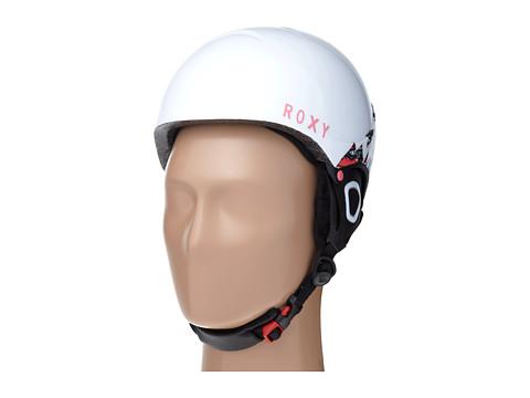 Roxy - Misty Helmet/Loola Goggle Combo Pack (White) Snow/Ski/Adventure Helmet