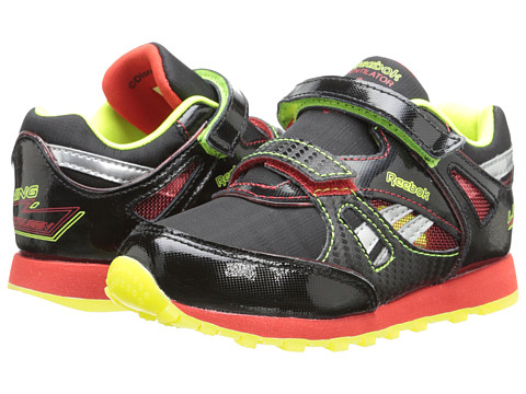 Reebok Kids - Disney Cars Ventilator (Infant/Toddler) (Black/China Red/Solar Yellow) Boys Shoes