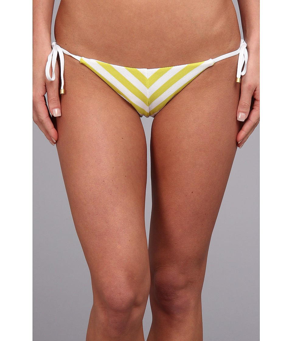 Vitamin A Swimwear - Natalie Miter Stripe Tie Side (Juno) Women's Swimwear