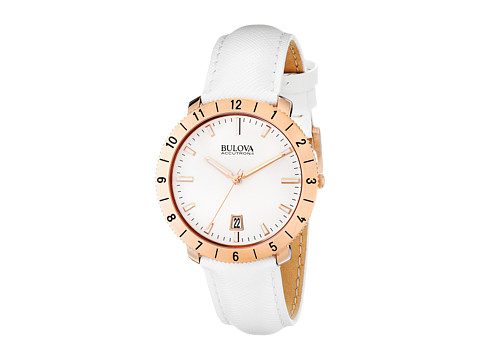 Bulova - Unisex Accutron II - 97B128 (White) Watches