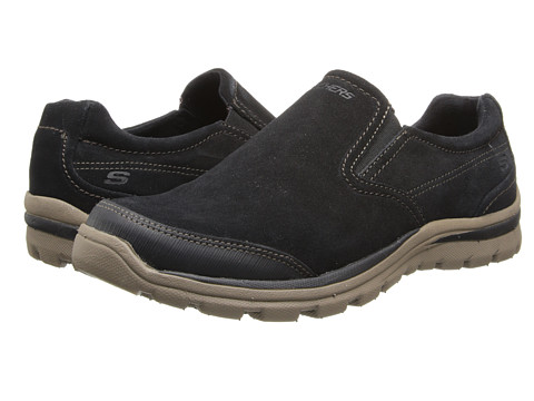 SKECHERS - Superior Refiner (Black/Taupe) Men