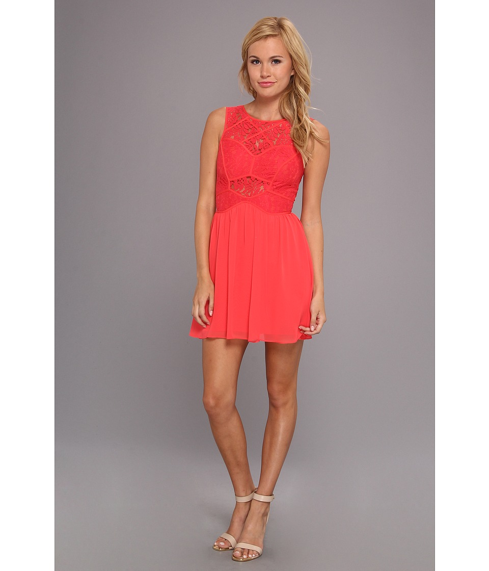 BCBGeneration - Knit Cocktail Dress (Teaberry) Women's Dress