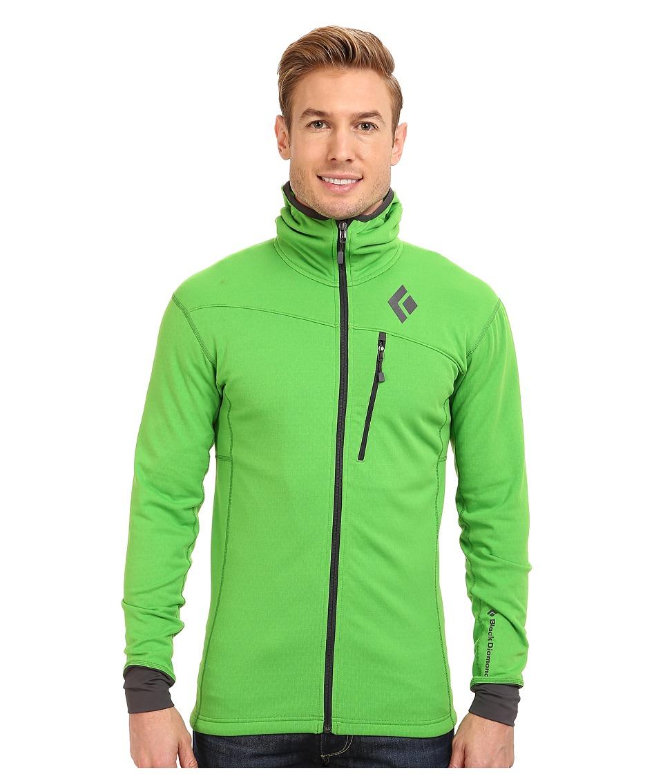 Black Diamond - Coefficient Hoody (Vibrant Green) Men's Coat