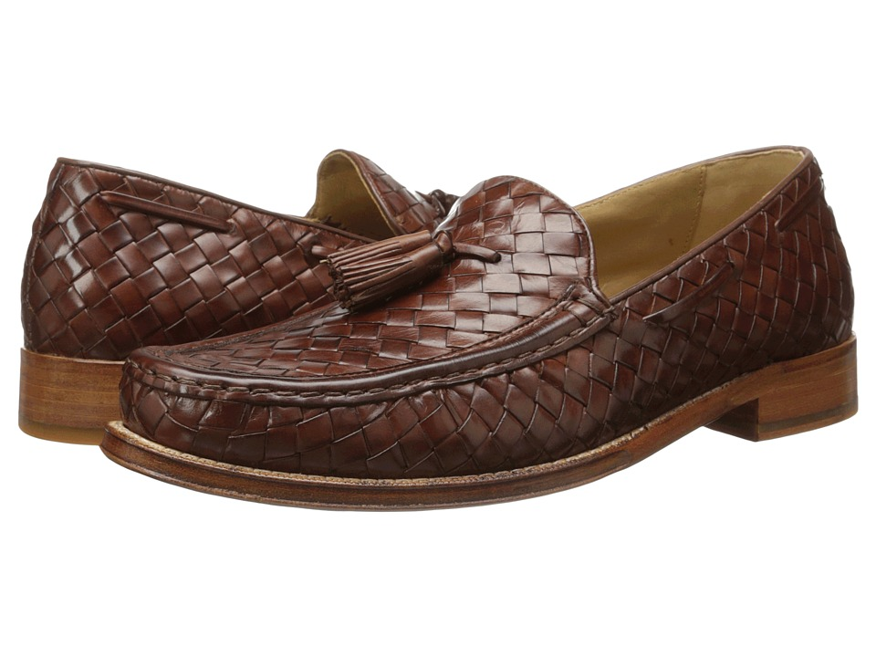 Cole Haan - Brady Woven Tassel Loafer (Papaya) Men