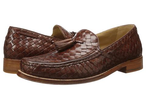 Cole Haan - Brady Woven Tassel Loafer (Papaya) Men's Slip-on Dress Shoes