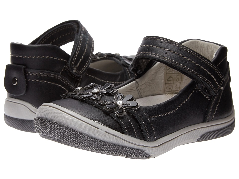 Image of Beeko - Clementine (Toddler) (Black) Girls Shoes