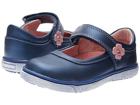 Beeko - Mabel (Toddler) (Navy) Girls Shoes