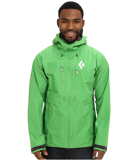 Black Diamond - Sharp End Shell (Vibrant Green) Men's Clothing