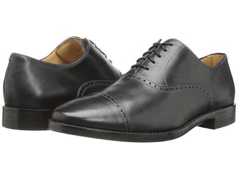 Cole Haan - Cambridge Cap Oxford (Black) Men's Lace Up Cap Toe Shoes