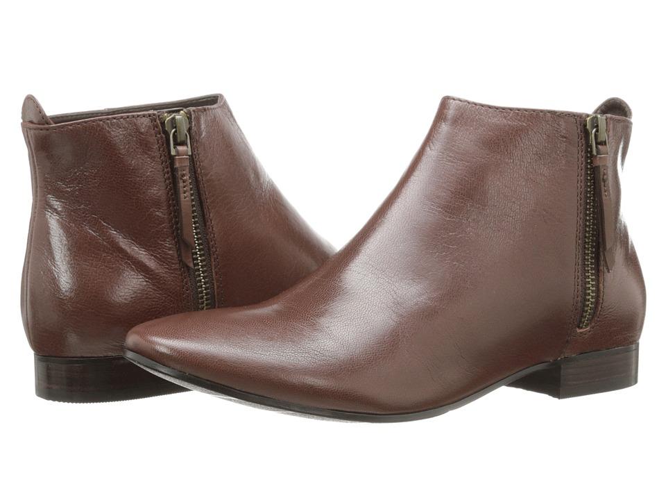Cole Haan - Belmont Bootie (Chestnut) Women's Zip Boots