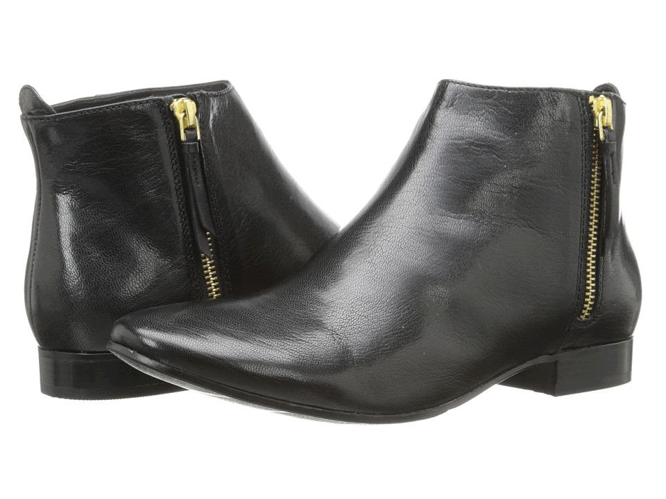 Cole Haan - Belmont Bootie (Black) Women's Zip Boots