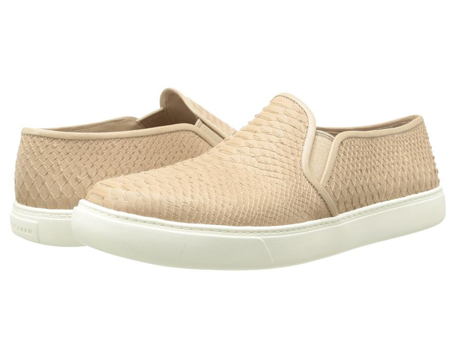Cole Haan Bowie Slip On Sneaker (Maple Sugar Snake Print) Women